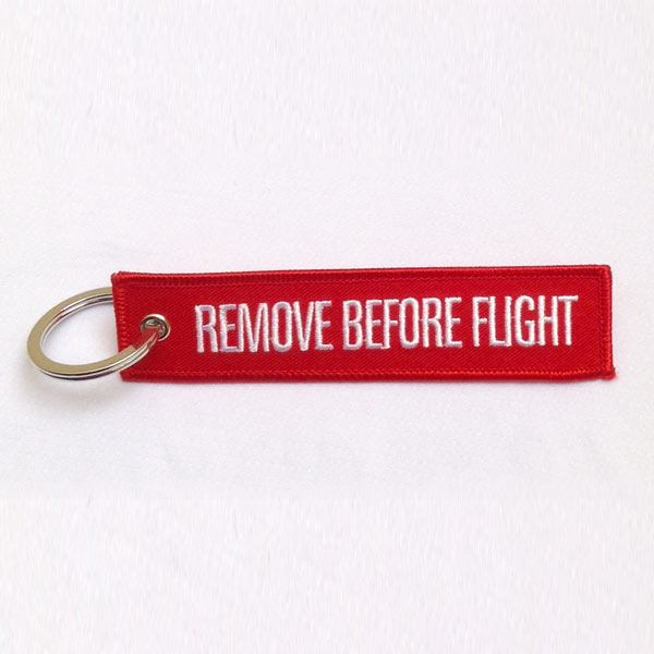 Clásico Llavero Remove Before Flight