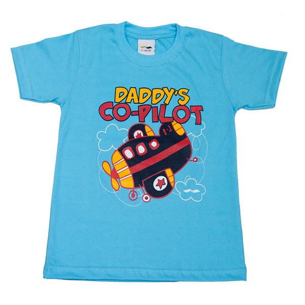 Daddy's Copilot Polo Niños