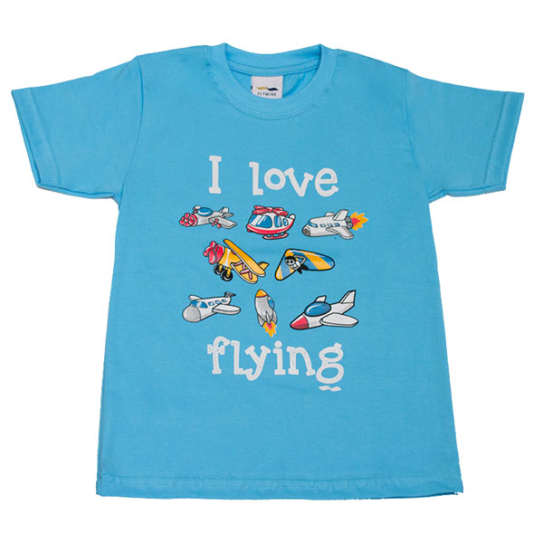 Polo Niños I Love Flying