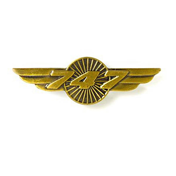 Pin Boeing 747 Original
