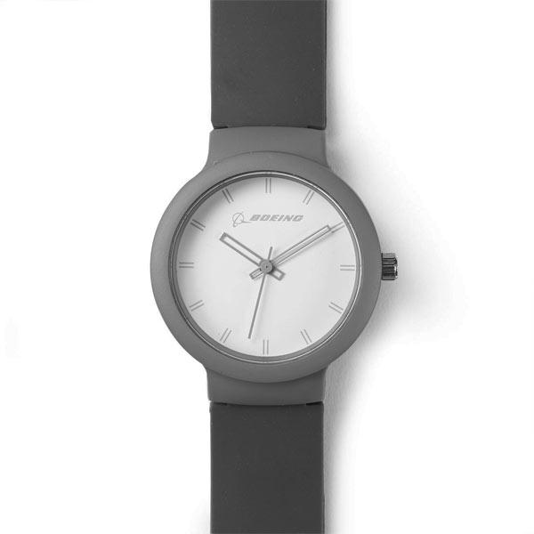 Reloj Boeing Silicona Gris Original