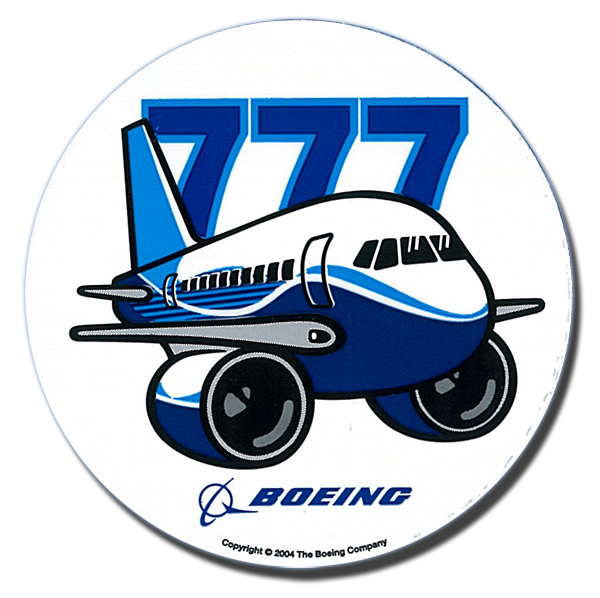 Sticker Boeing 777 Original