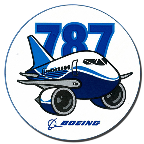 Sticker Boeing 787 Original
