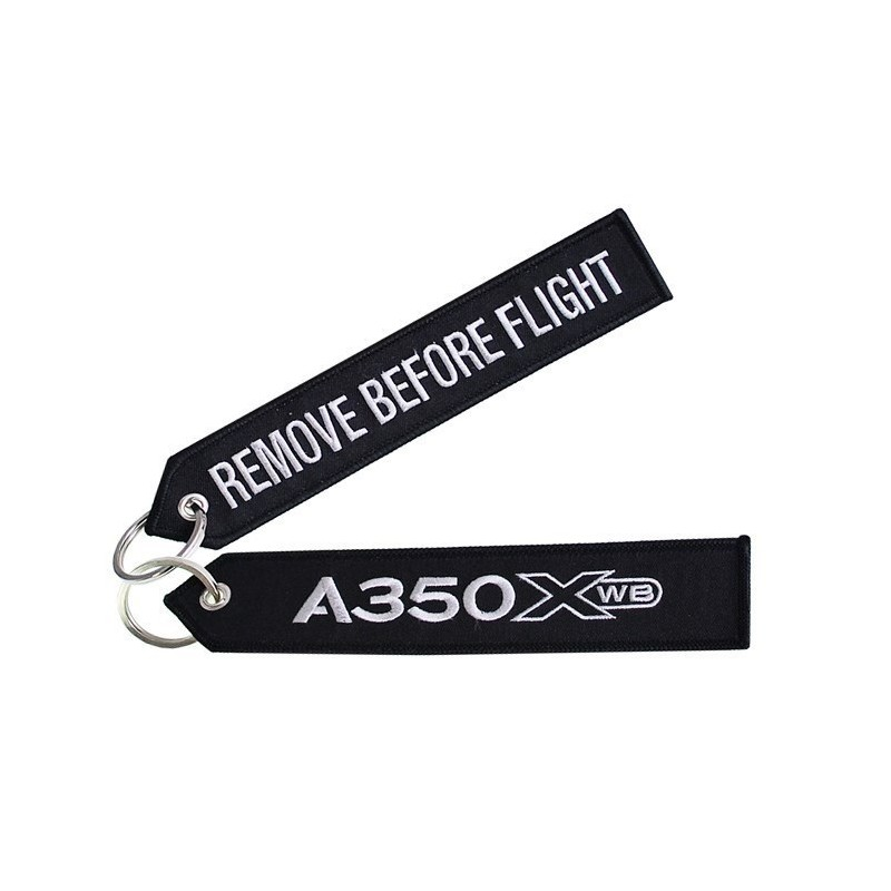 Llavero Airbus A350 XWB Remove Before Flight Original