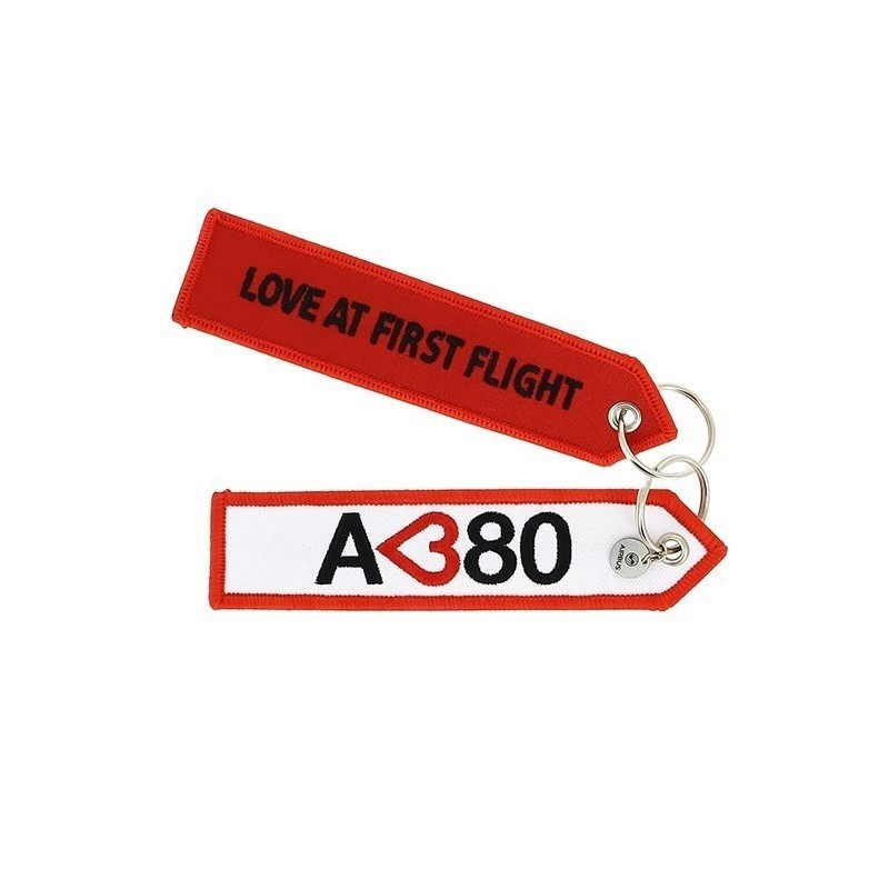 Llavero Airbus A380 Love Original