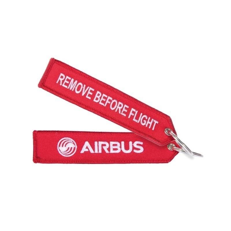 Llavero Airbus Remove Before Flight Rojo Original