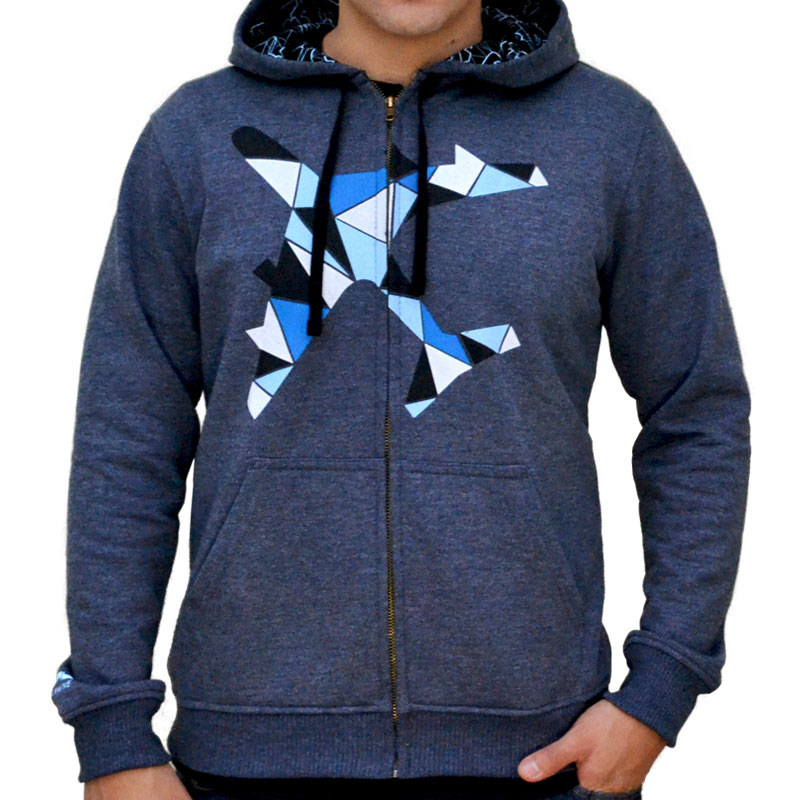 Polera Polygonal Airplane