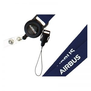 Lanyard Dispensador Retráctil Airbus Original