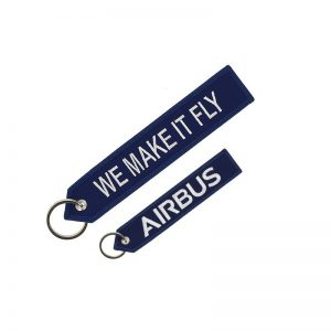 Llavero Airbus «We make it fly» Azul Original
