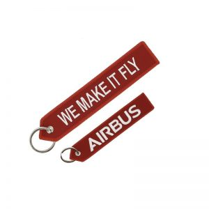 Llavero Airbus «We make it fly» Rojo Original